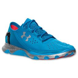 blue under armour running shoes