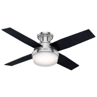 Hunter Dempsey 44 Led Low Profile 36 48 Inch Fans For