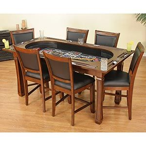 costco kitchen table turns into a table and craps