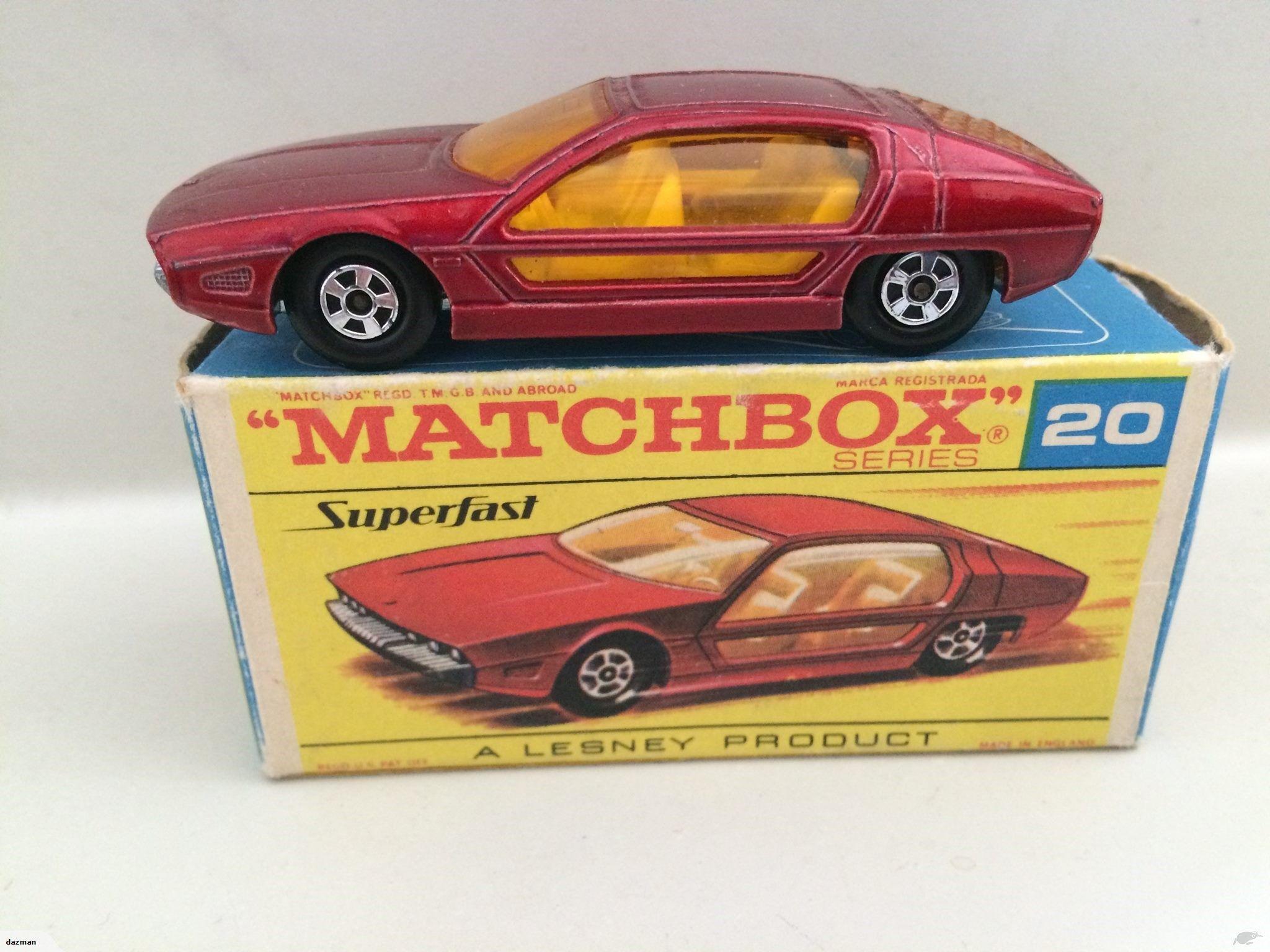 1969 20 Marzal Trade Me Toy car, Matchbox