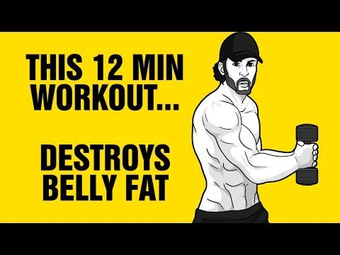 10min Of This Burns Belly Fat Fast 100 Bodyweight Workout