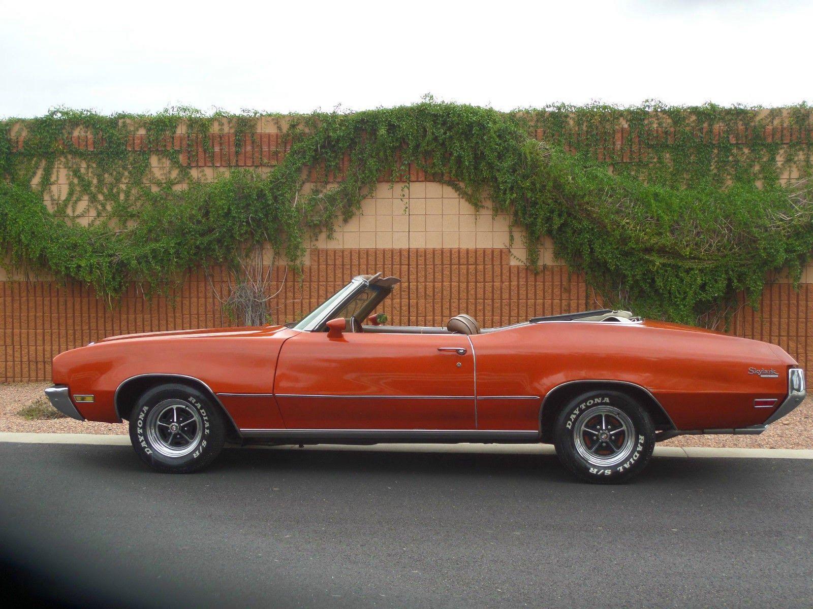 1972 Buick Skylark Custom 2 Door Convertible Buick Skylark Buick Cars Buick