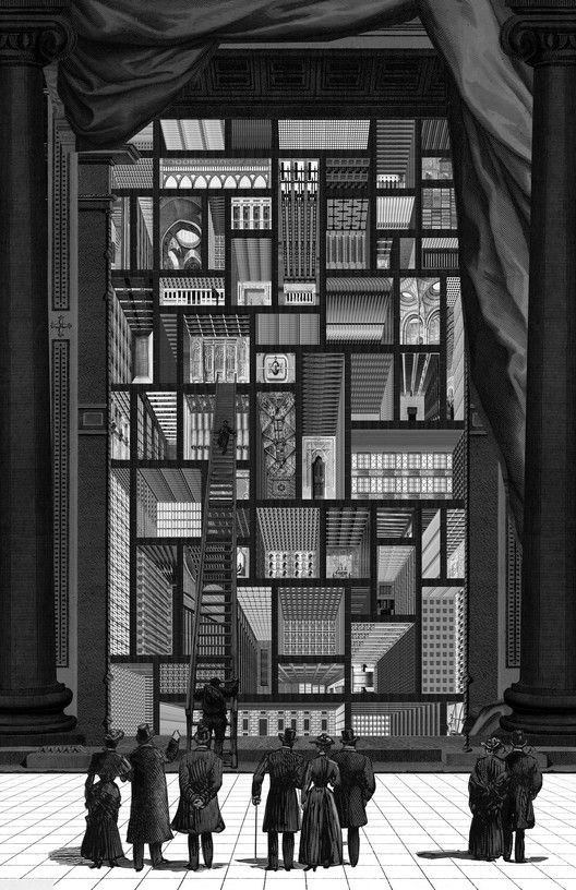 Gallery of Architecture Transcends Time in New Architectural Illustrations by Xinran Ma   - 1