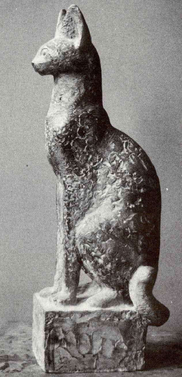 Arie Teeuwisse - Cat, Dutch sculptor (1919-1993)