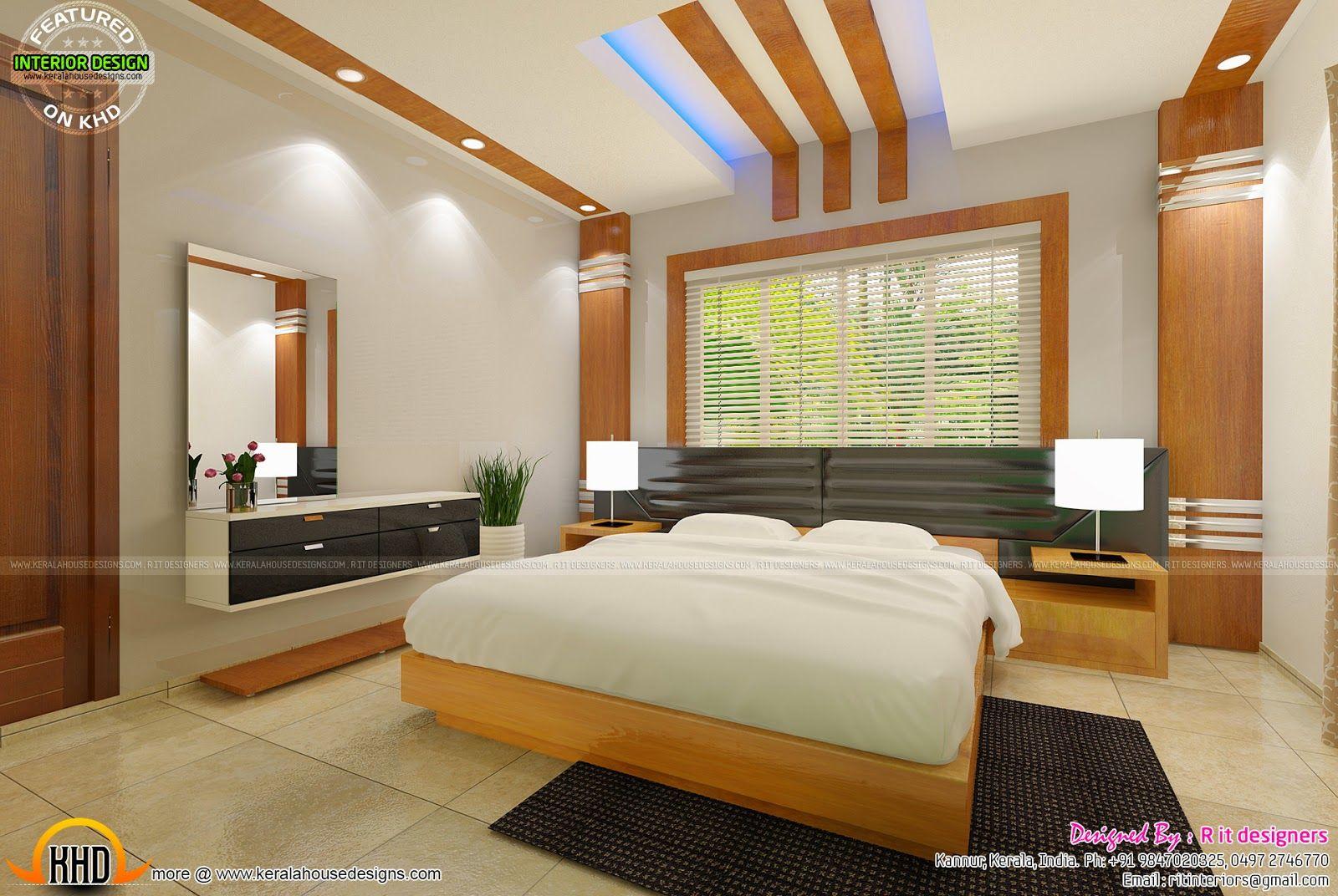 Nice Bedroom Design Kerala #bedroomceilingdesigninkerala # ...