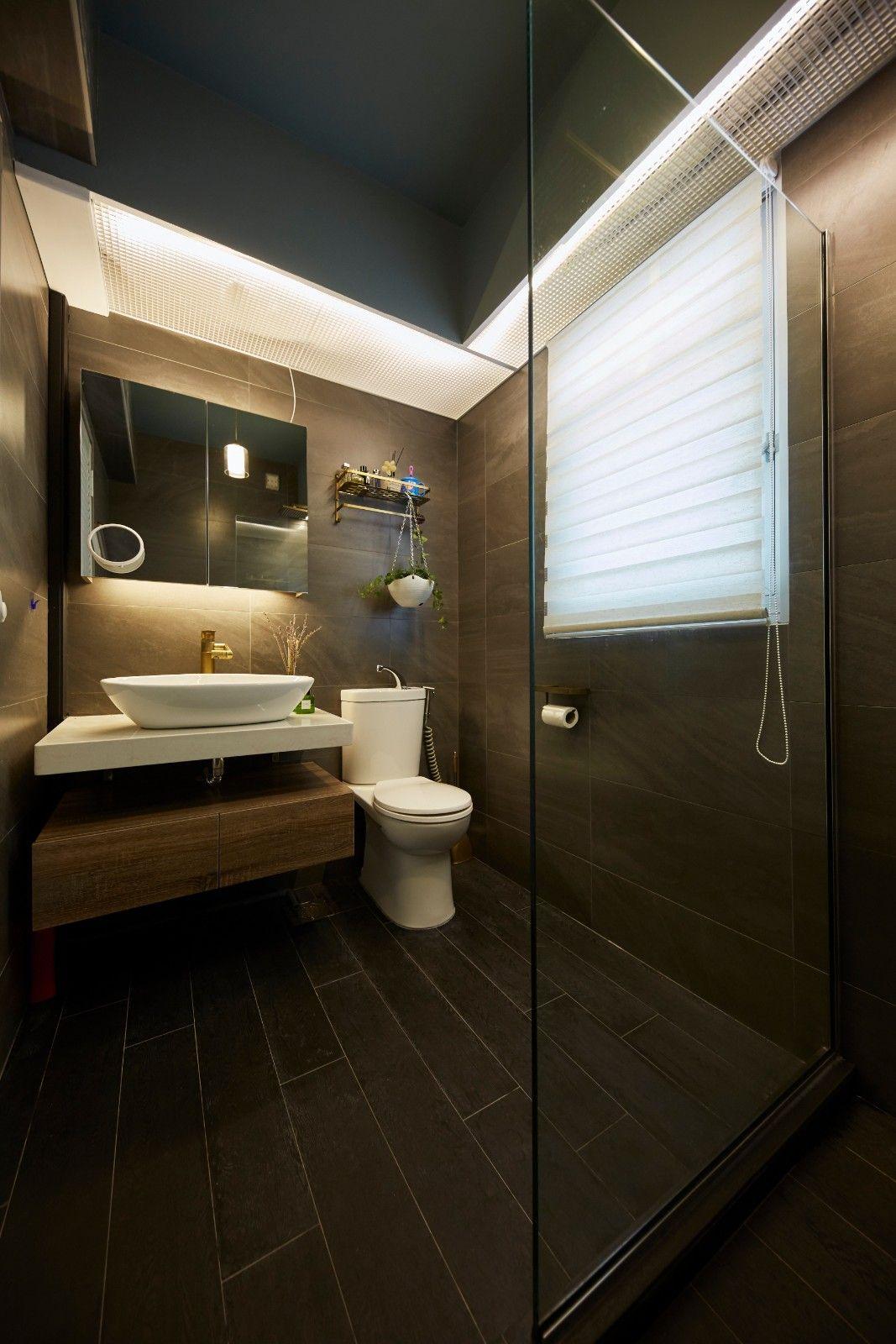 Modern Hdb Decor: HDB BTO Anchorvale Rustic Eclectic Theme 4 Room BTO