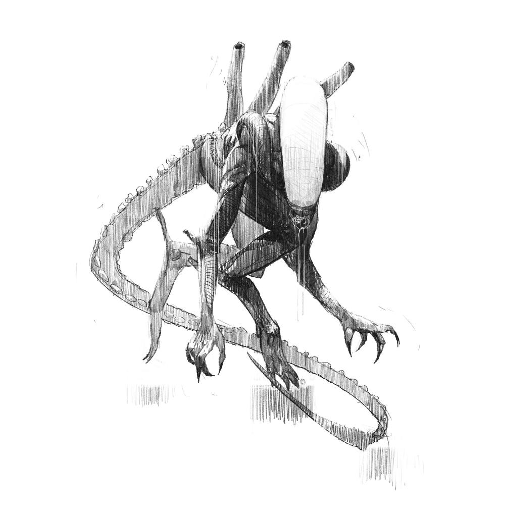 Artstation Alien Isolation Alien Concepts Brad Wright Alien Art Alien Concept Alien Isolation