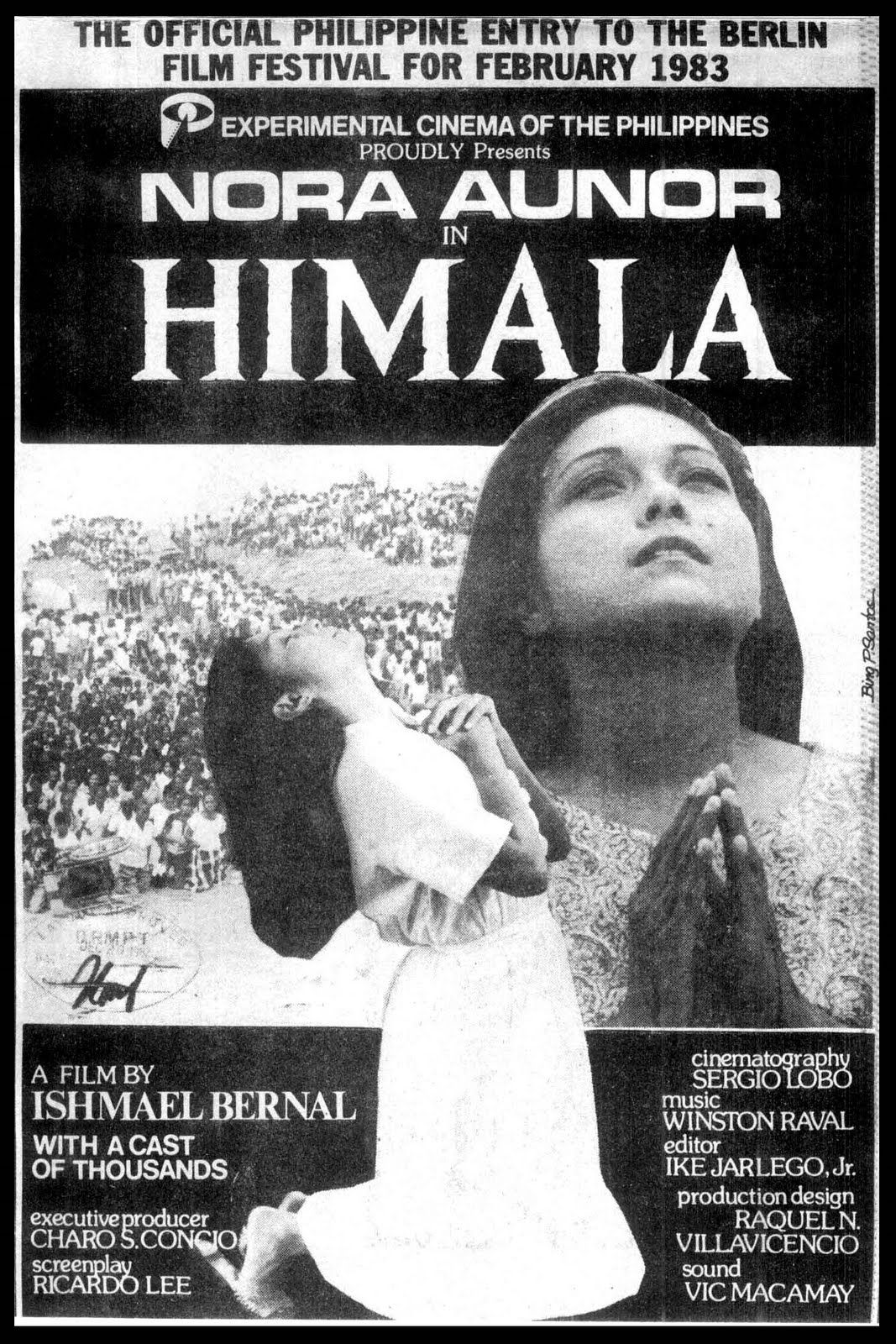 himala 1982 by ishmael bernal a filipino classic that