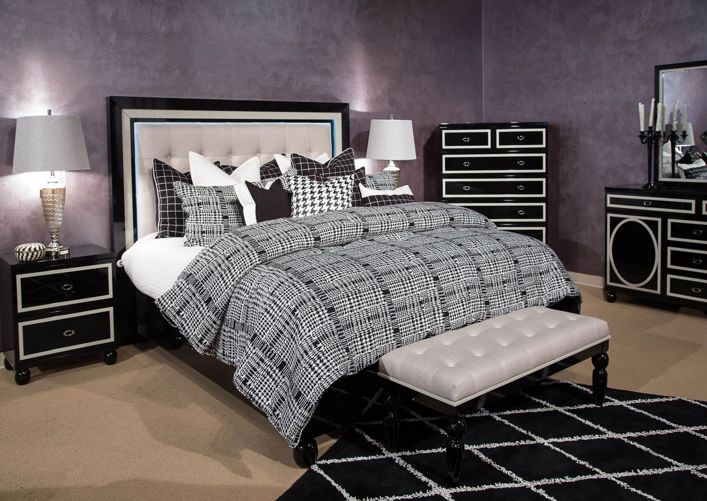 Pin by furniture ville on Bedroom Aico furniture