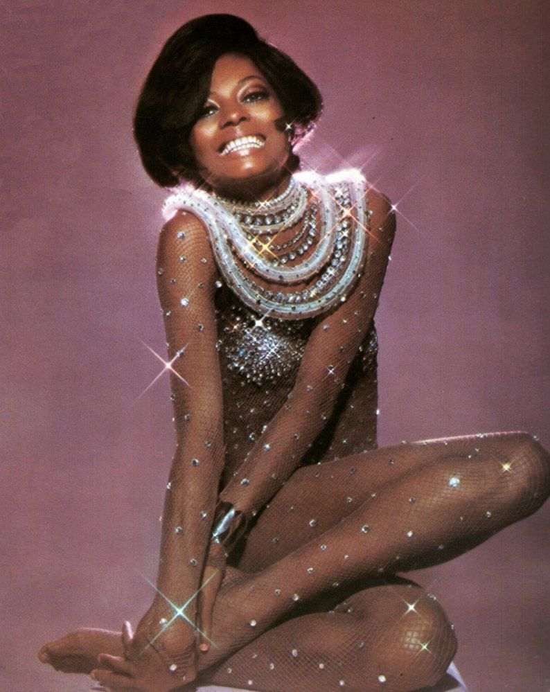 Diana ross all sparkly isnut she gorgeous people i admire