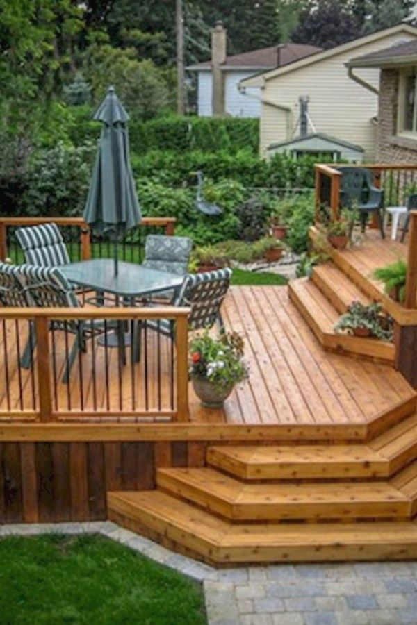 10 Creative Raised Deck Designs you can do yourself for your home ...