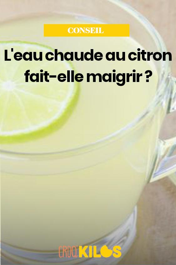 L'eau chaude au citron fait-elle maigrir ? en 2020