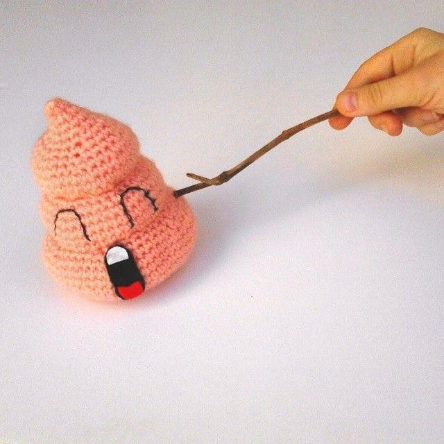 arale\'s poop #amigurumi #crochet   amugurumis   Pinterest   Trapillo