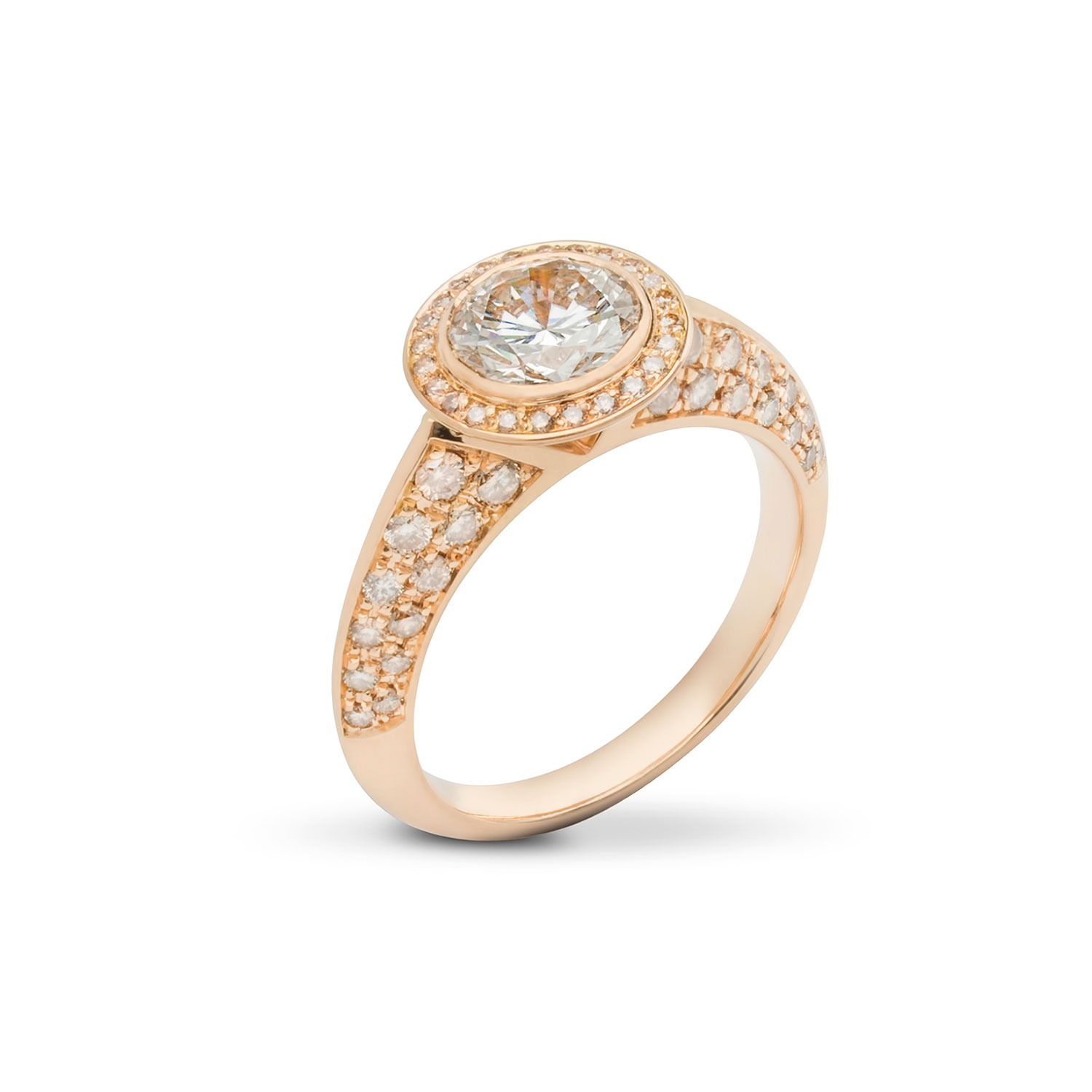 white rings diamond engagement gold leo ring