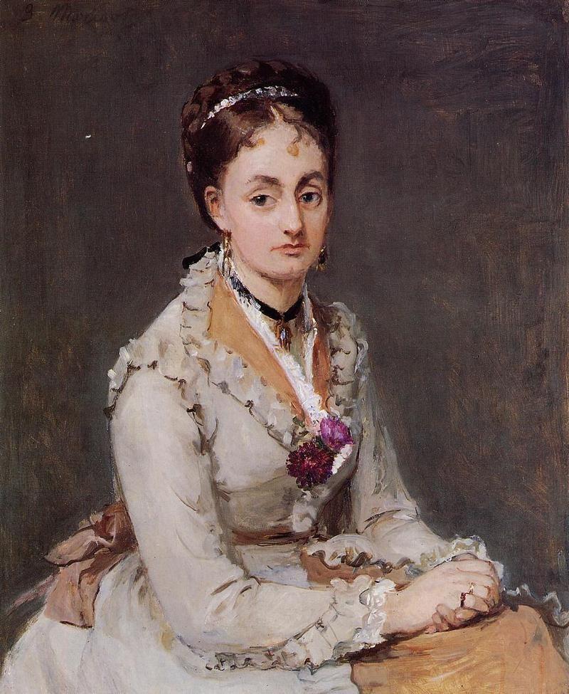 Portrait of Edma - 1870 -  Berthe Morisot