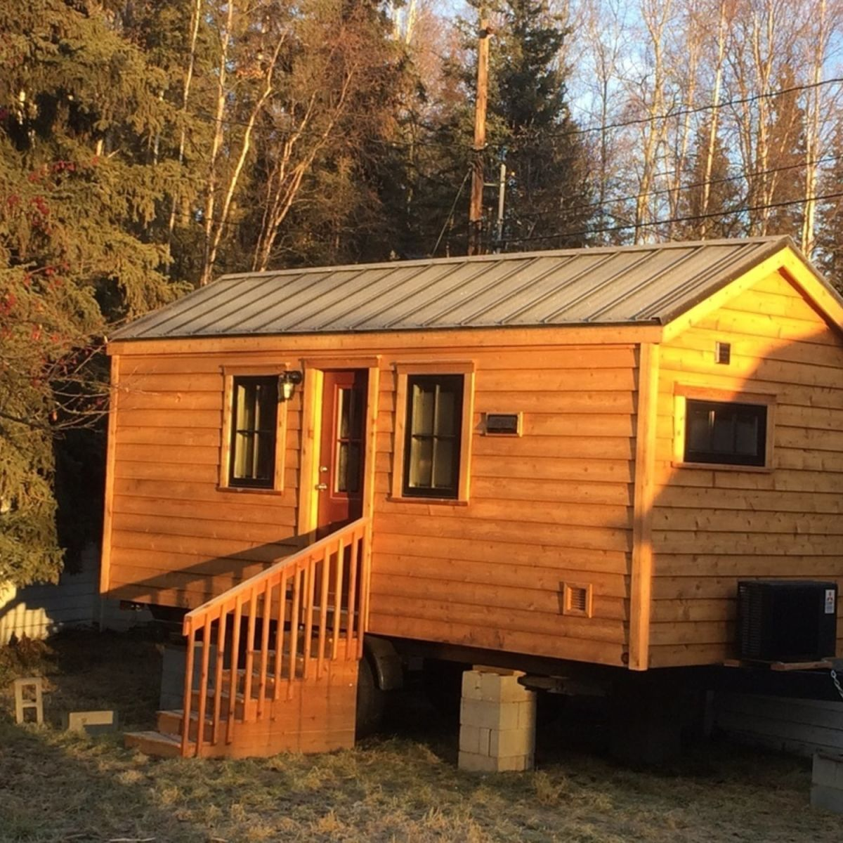 Used Tumbleweed Tiny House For Sale Tiny House For Sale In Anchorage Alaska Tiny House Listings Tumbleweed Tiny Homes Primitive Homes Tiny House Listings