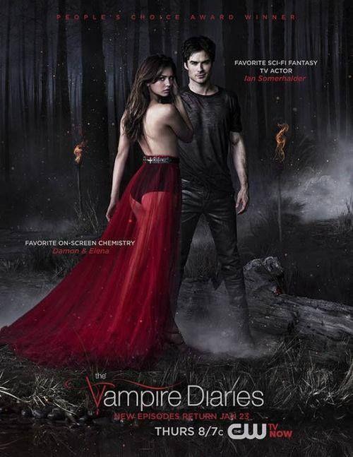 The Vampire Diaries Season 5 Returns Thursday Jan 23 Tvd Pferde