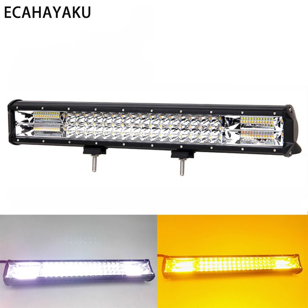 Find More Light Bar Work Light Information About Ecahayaku High Intensity 20inch Off Road Led Light Bar 6000k Led Light Bars Off Road Led Lights Car Led Lights