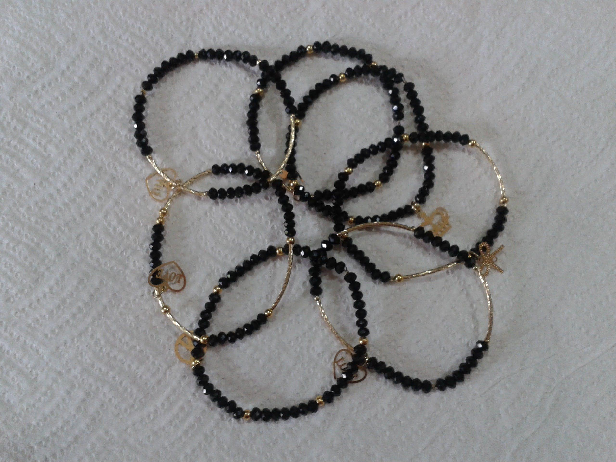 5f878648c958 como hacer pulseras semanario de pedreria fina | jewelery | Fashion ...