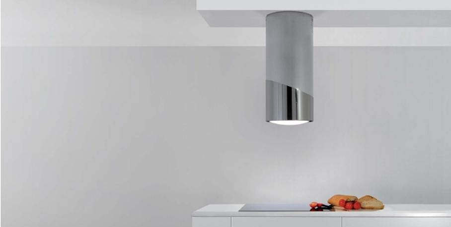 hotte ilot tube inox mo 406 sirius puissante. Black Bedroom Furniture Sets. Home Design Ideas