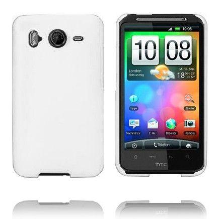 Hard Shell (Valkoinen) HTC Desire HD Suojakuori