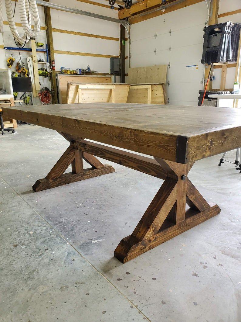 Extension farm table extension table leaf farmhouse