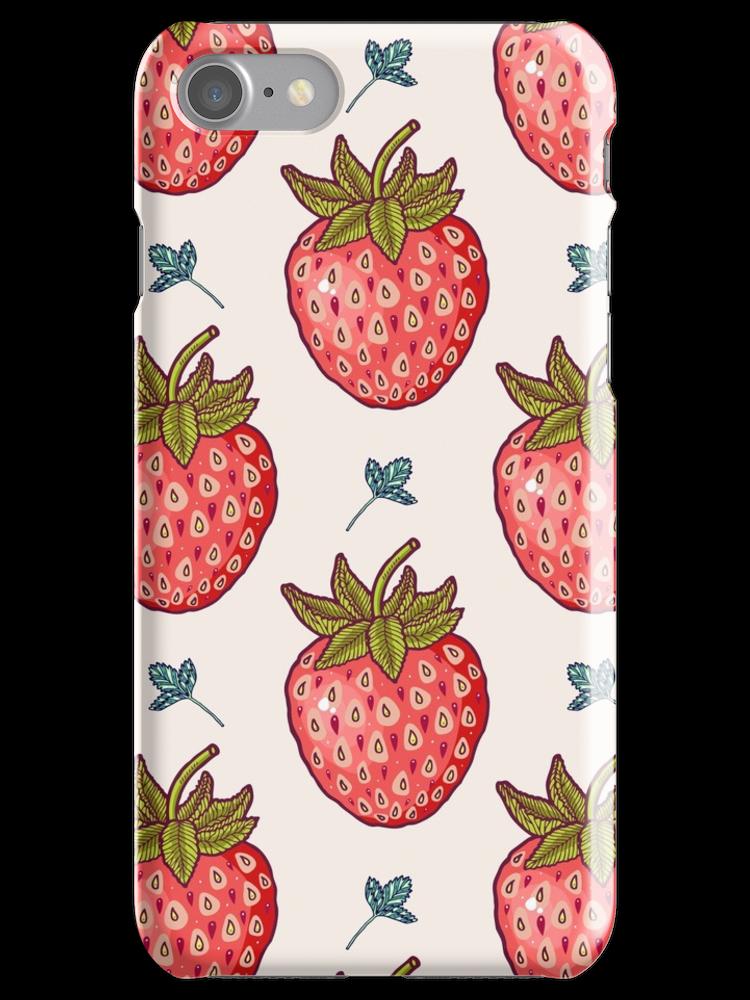 Strawberry Fields iphone 11 case