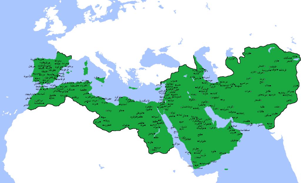 Umayyad Caliphate Historical Maps Alternate History Character Art