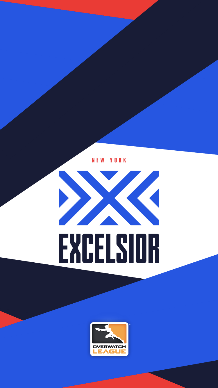 Hey So I Made Some Overwatch League Phone Backgrounds Because I Haven T Seen Any Feel Free To Use I M Still Working Overwatch Wallpapers Overwatch Excelsior