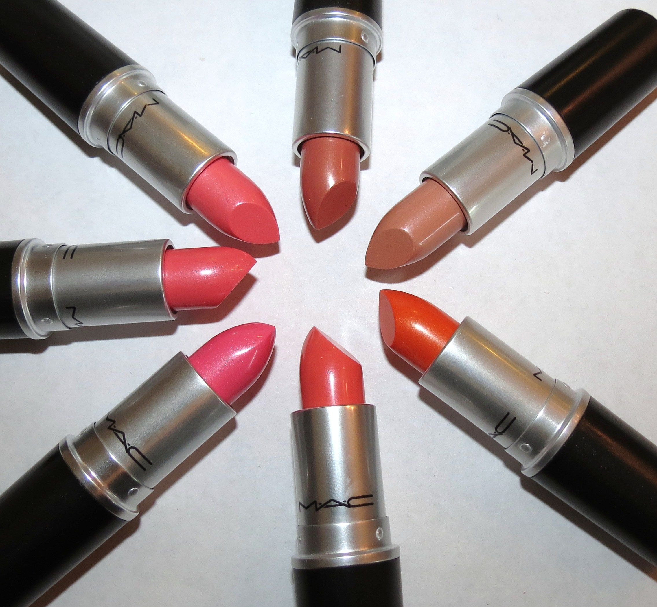 MAC Cremesheen + Pearl Lipstick Swatches & Review ...