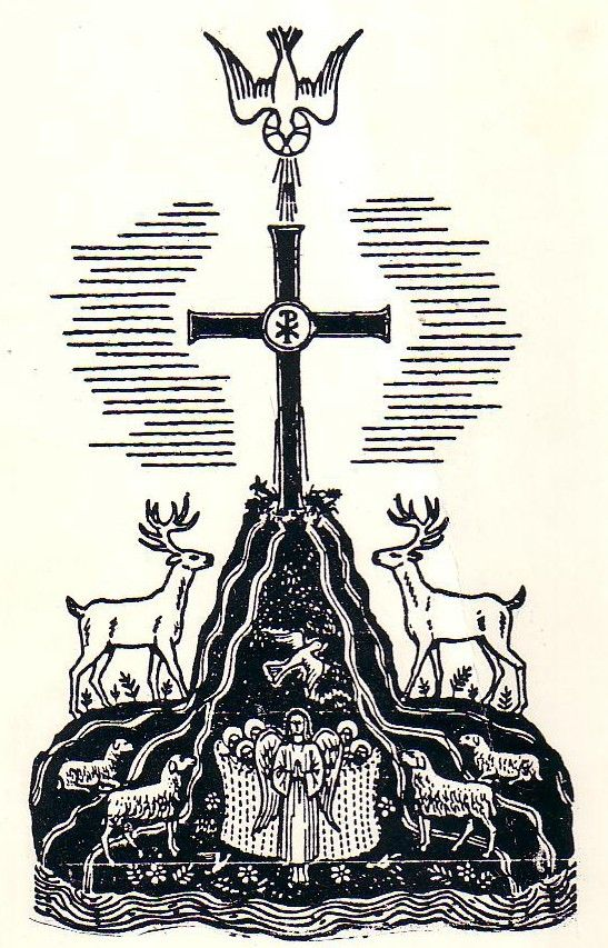 This Is A Symbol Of The Church Found In A Church In Rome From The