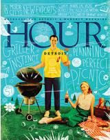 Hour Detroit Magazine, July 2013