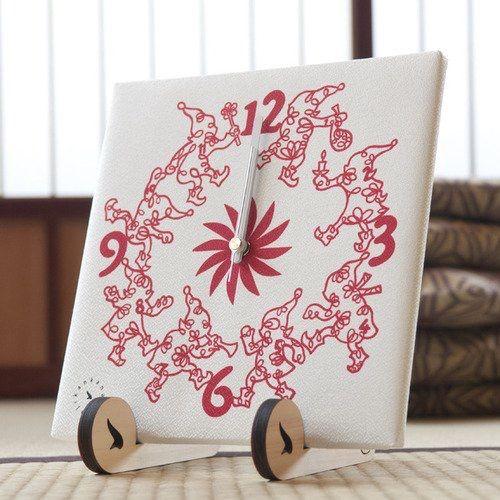 #tonttu #clock  http://ene.shopselect.net/