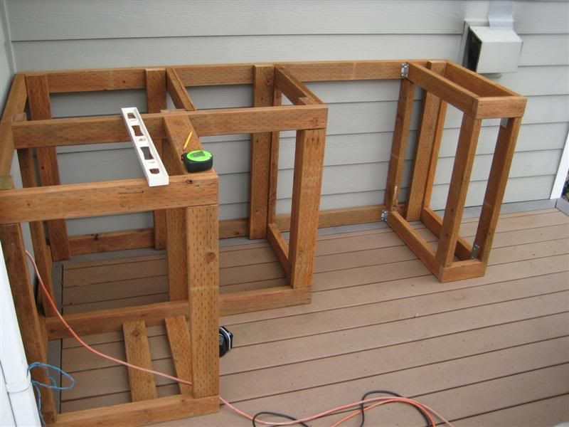 How to Build Outdoor Kitchen Cabinets  Dyi  Build