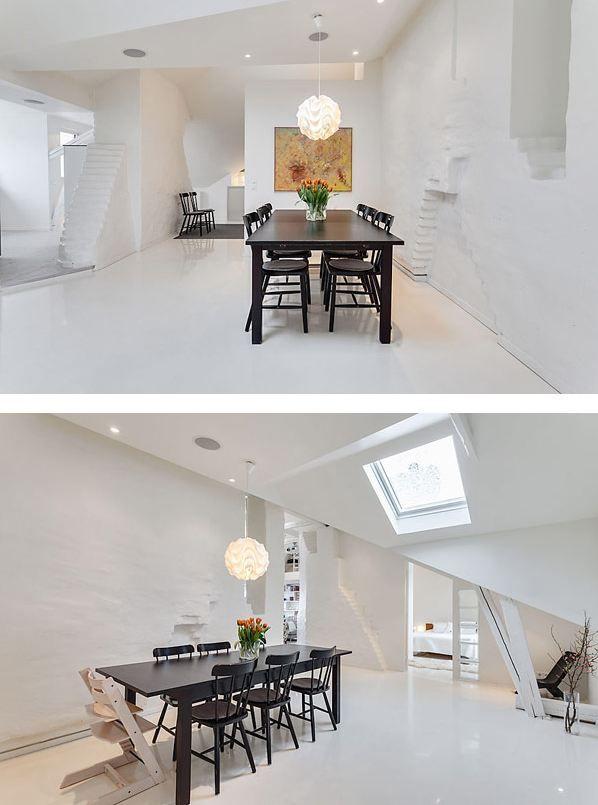 Attic apartment also bedroom decorating and design interior ideas rh pinterest