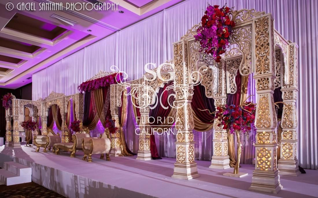 Florida Indian Wedding Decorator