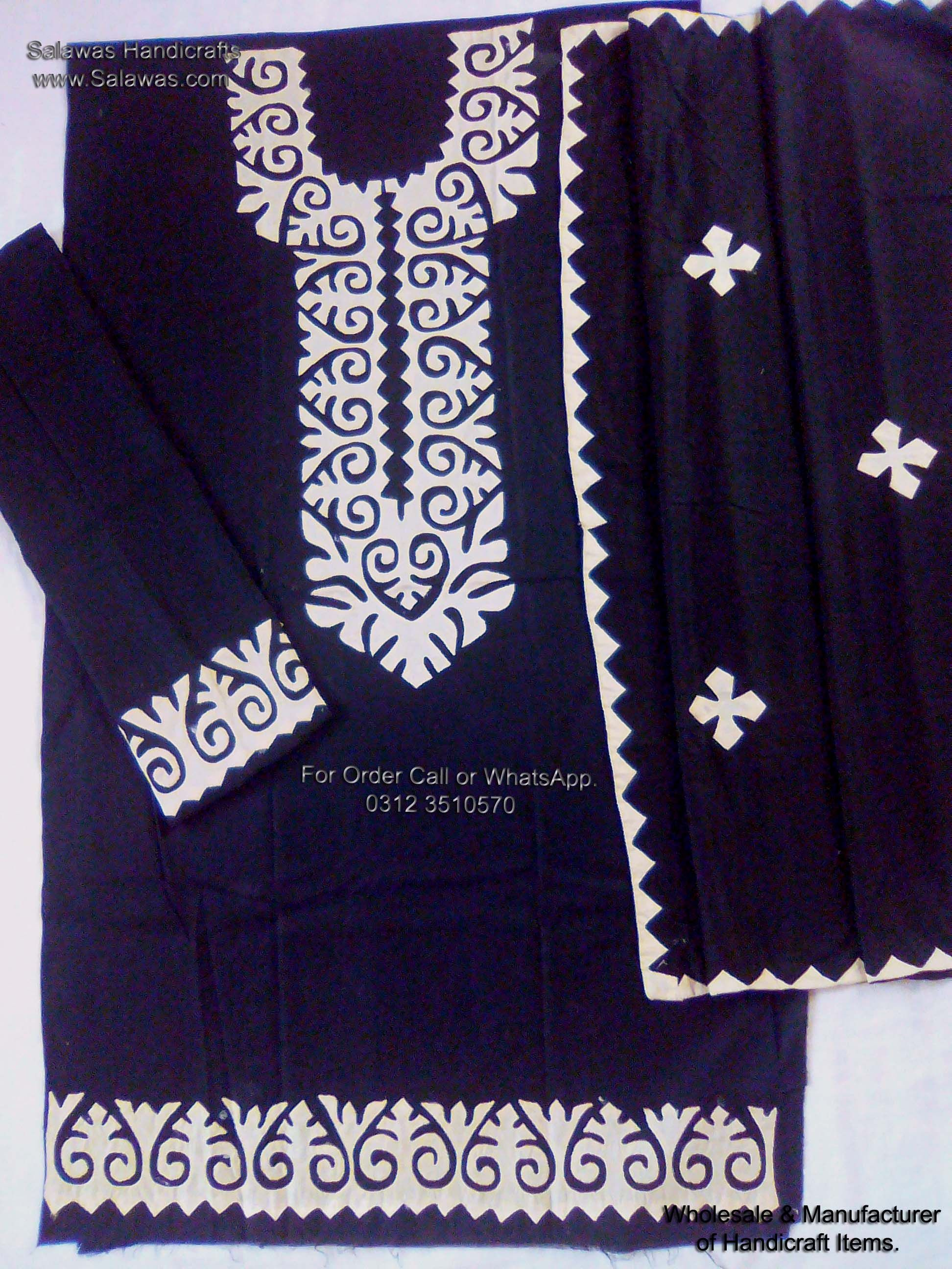 The best indian aplic design of hand embroidery and applique work