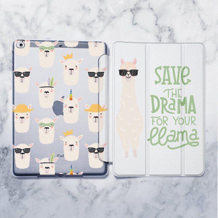 IPad Llama case Cute Alpaca 10.5 iPad case iPad Air Animal | Etsy