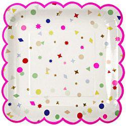 Confetti dishes