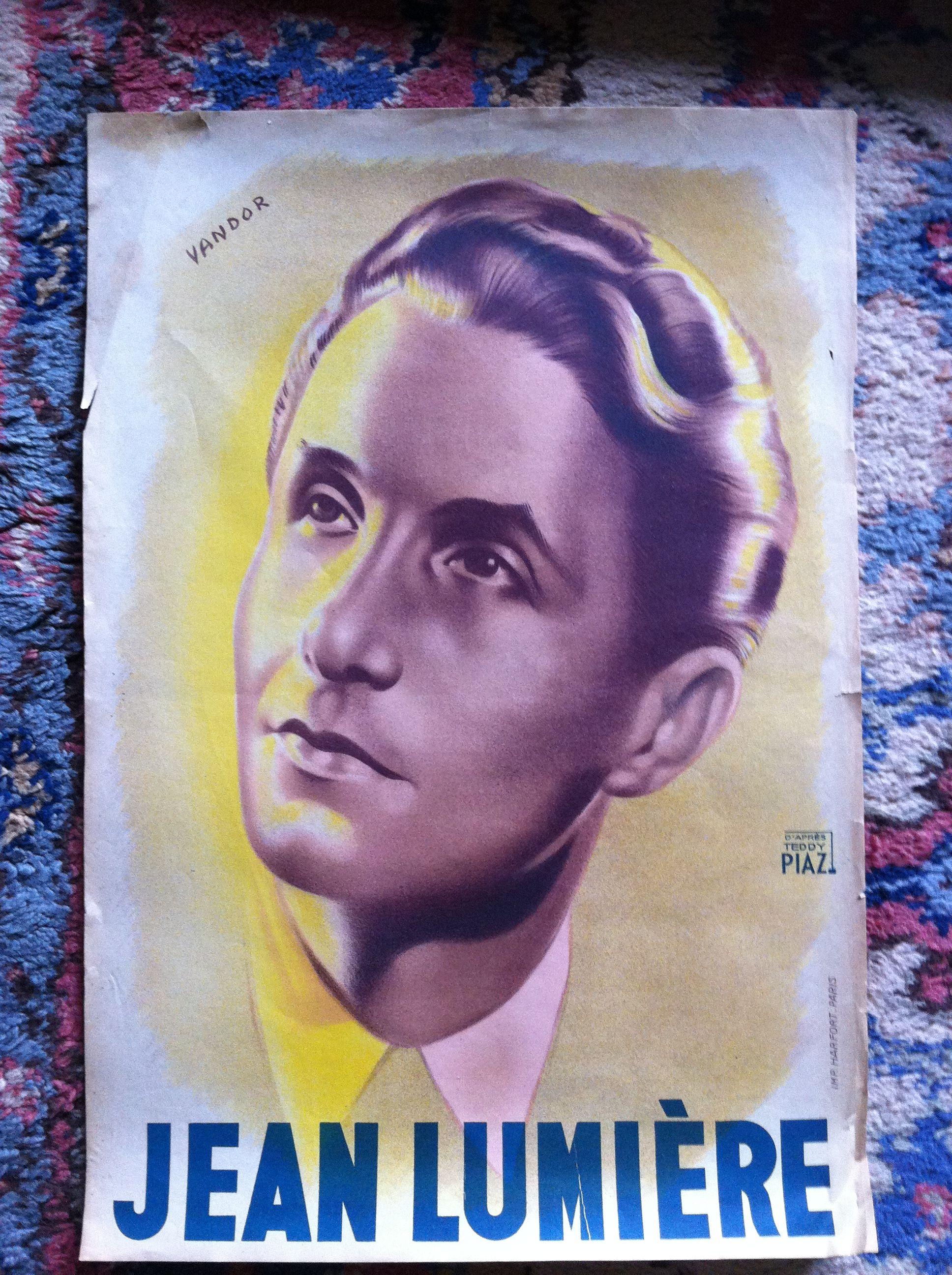 Jean Lumière affiche par Vandor