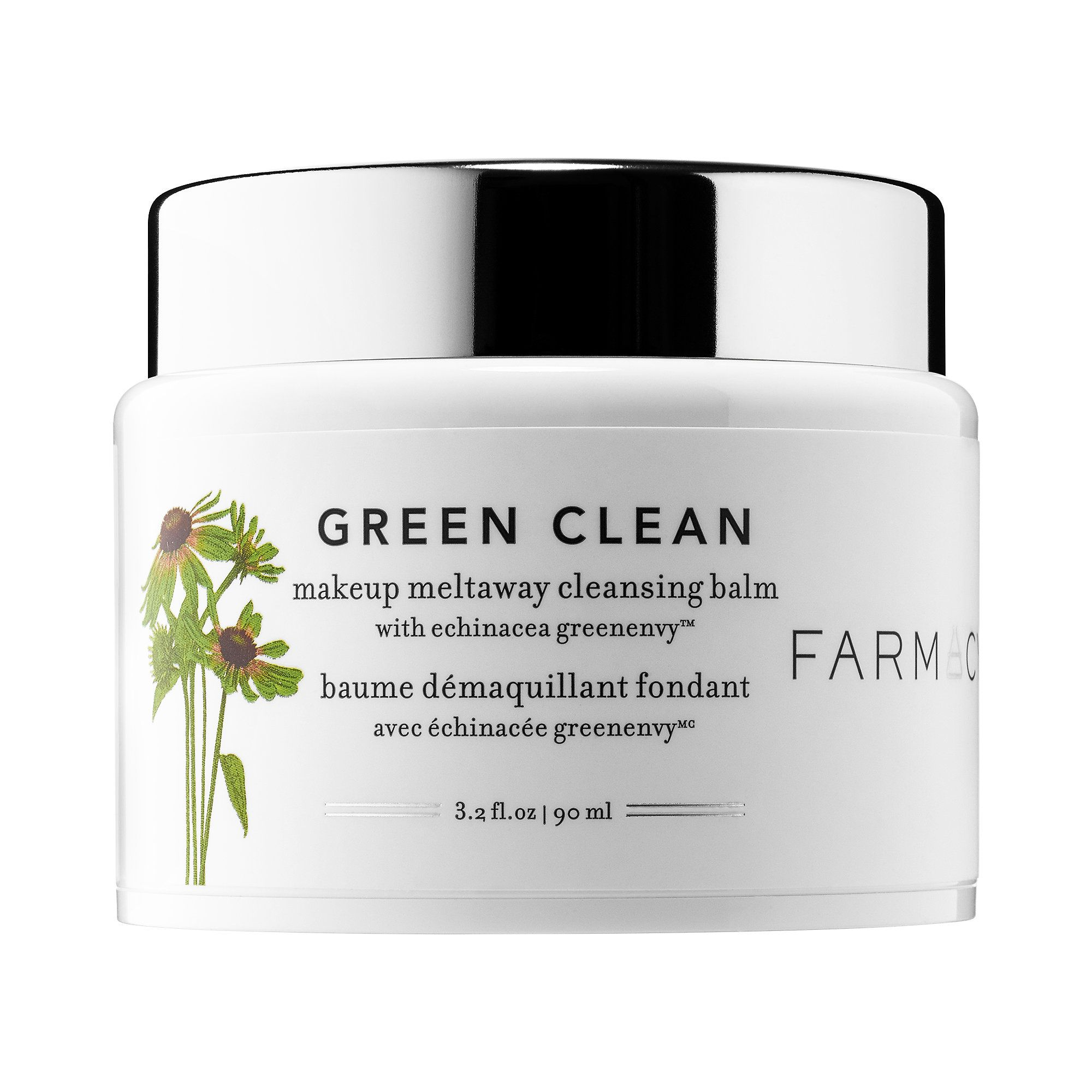 Green Clean Makeup Removing Cleansing Balm Farmacy