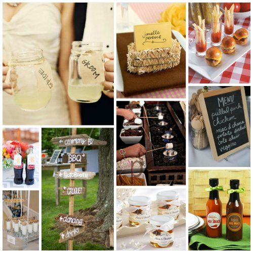 Beat The Summer Heat With A Bbq Wedding