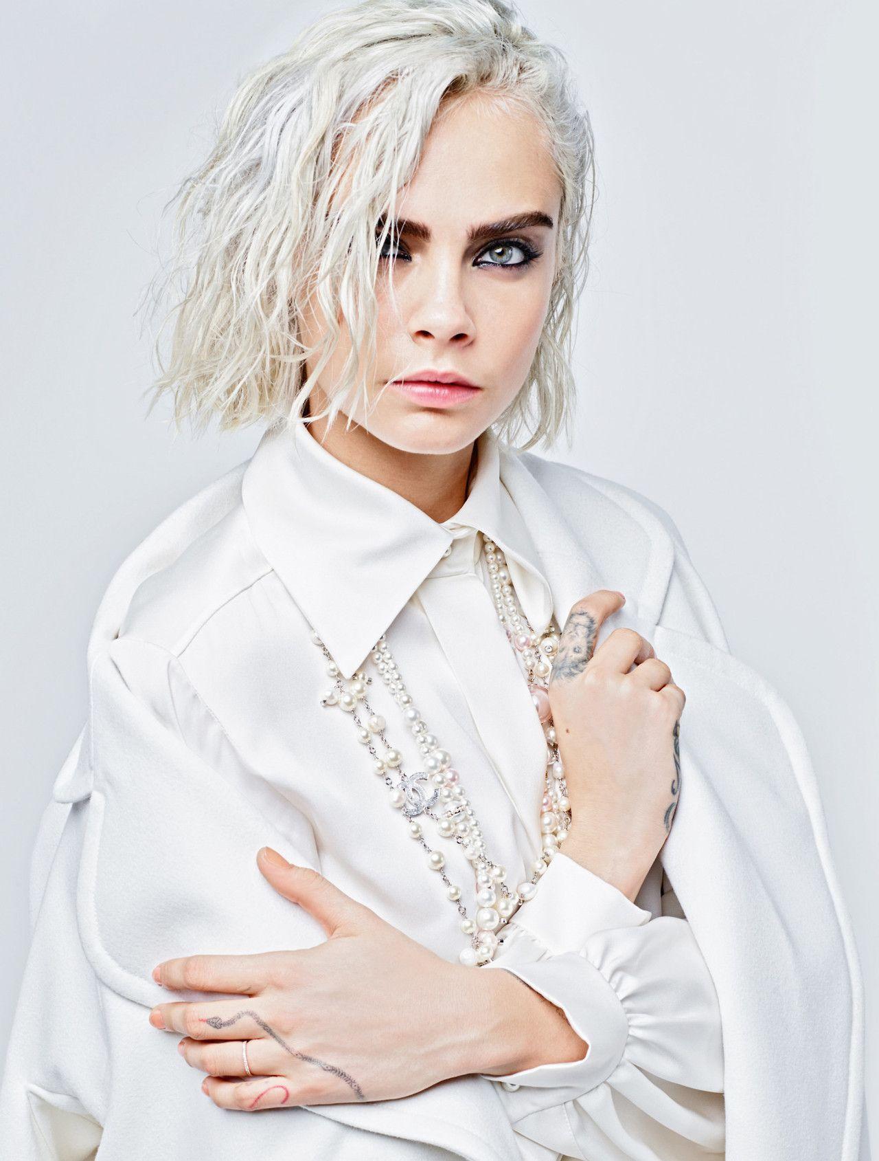 WASD — Ad Campaign  Chanel Fall Winter 2017-2018 Model ...  bc6c209068c