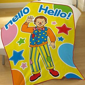 Something Special Mr Tumble Fleece Blanket Mr Tumble Toys Fleece Blanket Mr Tumble