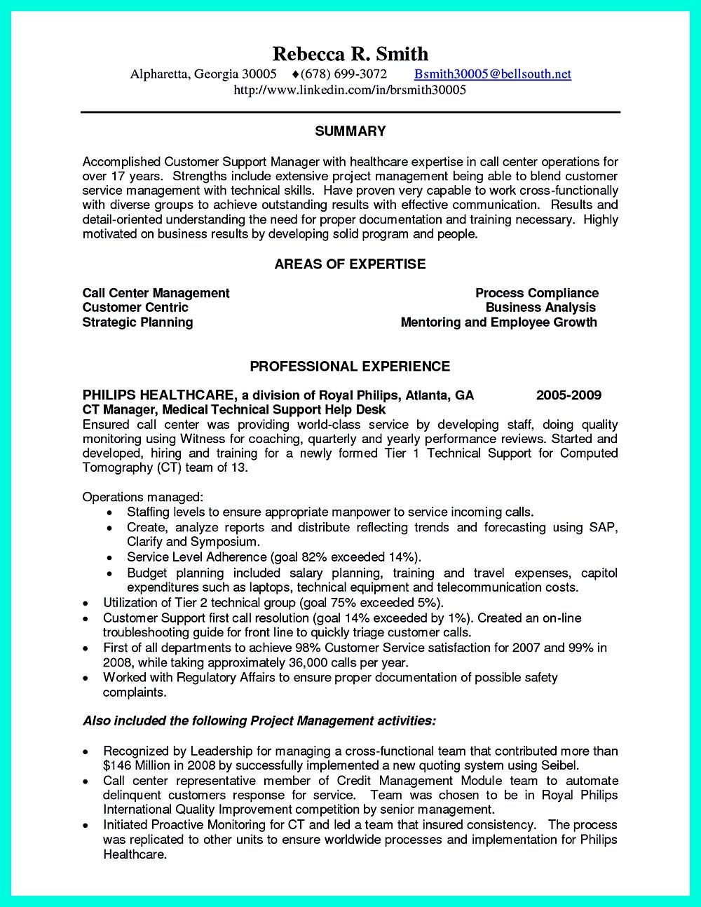CSR Resume Or Customer Service Representative Resume, Include The Job  Aspects Where It Showcase Your  Call Center Customer Service Representative Resume
