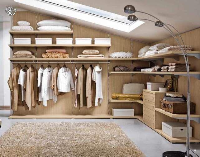 j 39 am nage un dressing sous les combles dressing combles. Black Bedroom Furniture Sets. Home Design Ideas
