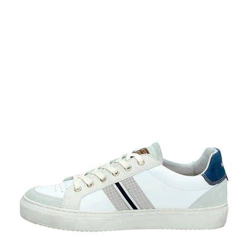 ae4d939f3b1 Australian Lincoln leren sneakers wit