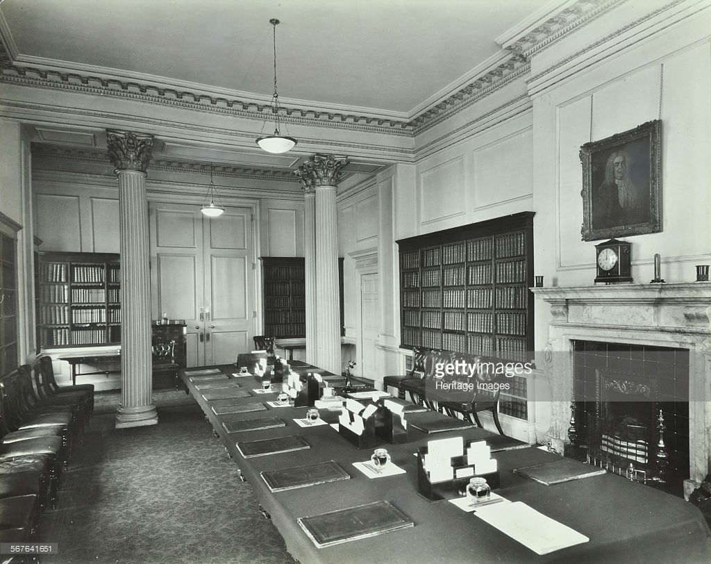 The Downing Street Executive Curio Desk: The Cabinet Room At Number 10, Downing Street, London