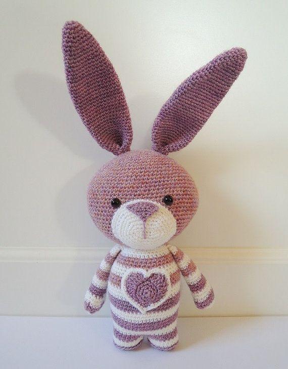 Crochet pattern Bea the rabbit - Amigurumi pattern | Pinterest ...
