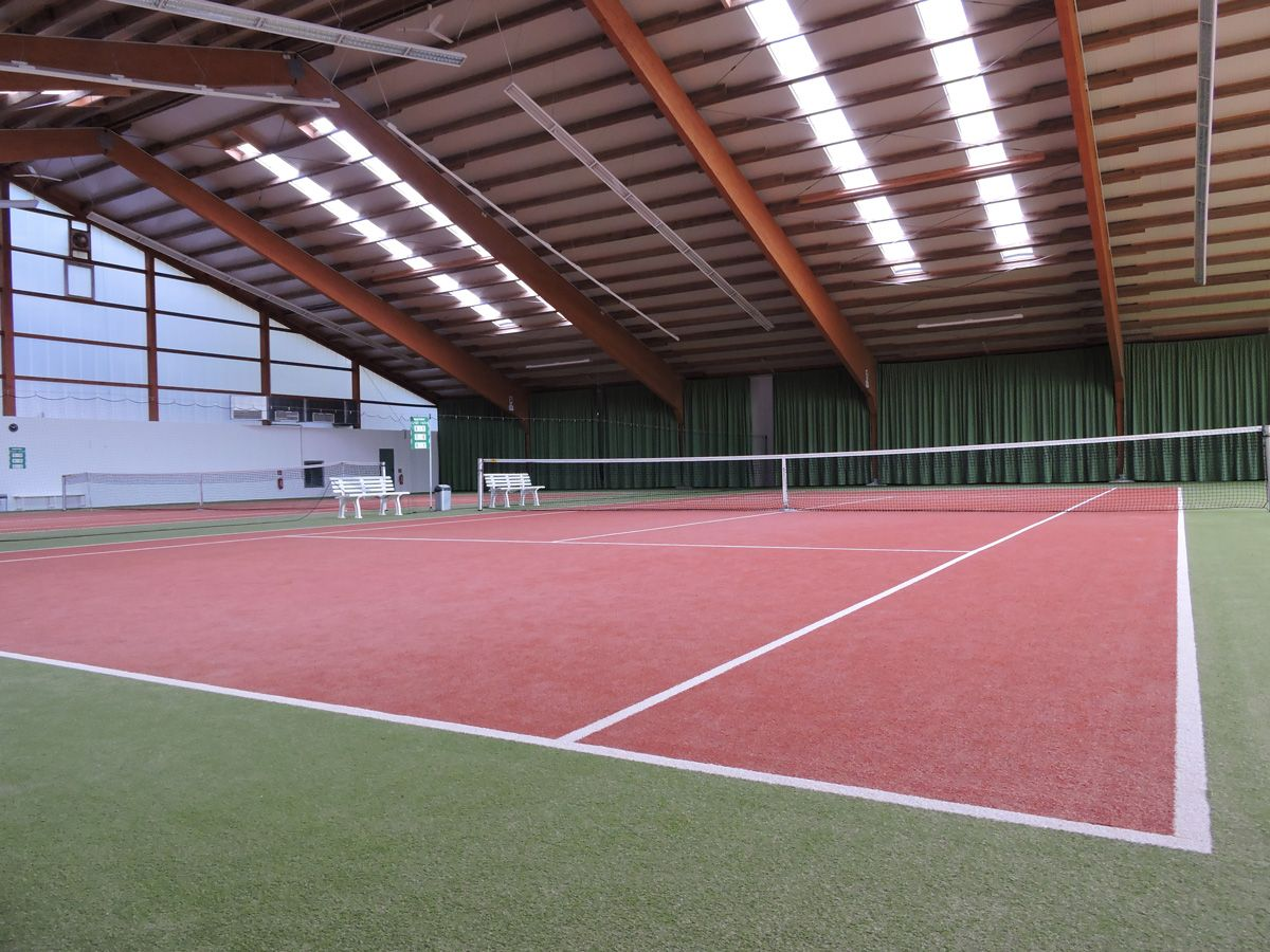 Our Indoor Courts from another view
